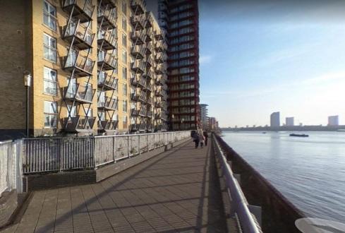 Canary Wharf Thames